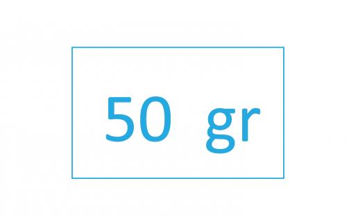 precisione con margine di esattezza di soli 50 gr