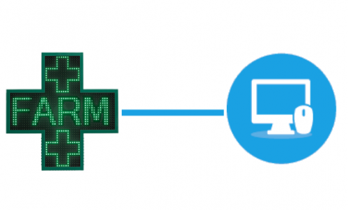 croce led personalizzabile e programmabile